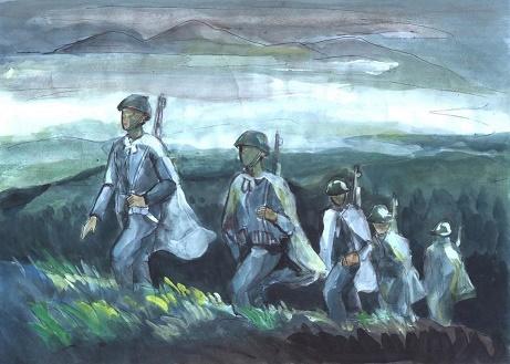 Suy nghĩ về tình đồng chí, đồng đội của người lính qua bài thơ Đồng chí