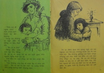 Tình cảm cha con trong chiến tranh qua bài Chiếc lược ngà