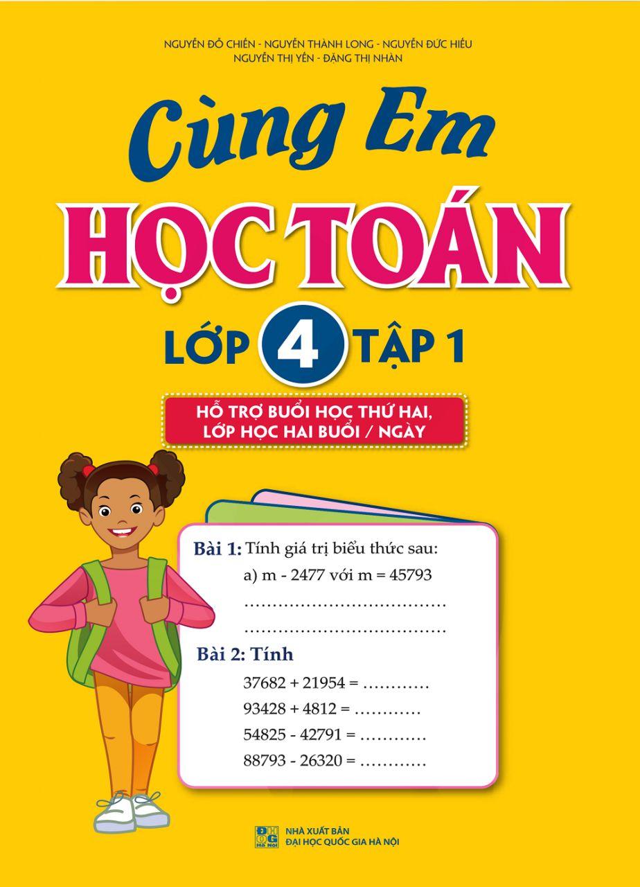 Các con học giỏi toán lớp 4 nhờ bộ sách này
